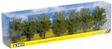 Noch 25088 H0/TT/N Arbres a feuilles caduques,7 Pièces,environ 8 cm de hauteur