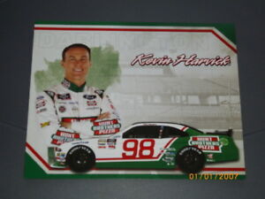 "2018 KEVIN HARVICK #98 HUNT BROTHERS PIZZA ""DARLINGTON"" NASCAR POSTCARD"