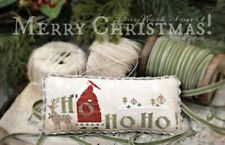 MERRY CHRISTMAS! CROSS STITCH SAMPLER CHART-COUNTRY STITCHES