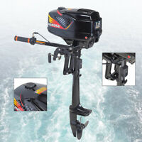 Outboard Engine Motor 3.6HP 2 Stroke Engine Fishing Small Boat Dinghy kayak CDI