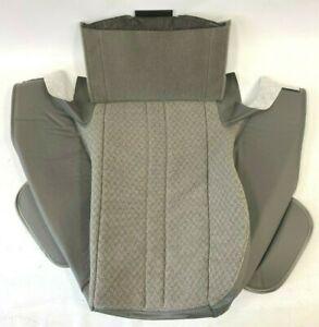 Chevrolet Express GMC Savana Van Driver Passenger Gray Cloth Seat Cushion Cover
