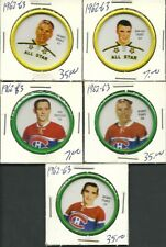1962-63 Shirriff coin #59 Jacques Plante