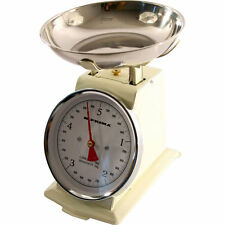 5KG VINTAGE TRADITIONAL WEIGHING KITCHEN SCALE BOWL RETRO MECHANICAL SCALES