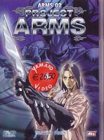 1 DVD MANGA YAMATO VIDEO ANIME,PROJECT ARMS 2 spriggan,xenon,esper,guyver,kakugo