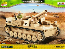 COBI Sturmpanzer II (2528) - 465 elem. - WWII German heavy assault gun