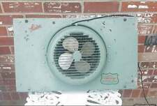 Vintage Lasko Window Fan Aqua Blue REVERSIBLE EXPANDABLE Model 74