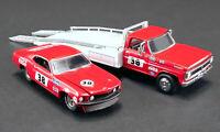 ACME 1:64 Allan Moffat Racing #38 1969 Trans Am Mustang & Ford F-350 Ramp Truck