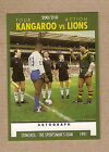 1991 RUGBY LEAGUE CARD #200 - KANGAROOS V LIONS