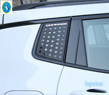 Accessories For Jeep Compass 2017 2018 Rear Spoiler Wing Side Triangle Kit Trim