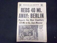 1945 FEBRUARY 1 NEW YORK DAILY NEWS - REDS 40 MI. AWAY: BERLIN - NP 2176
