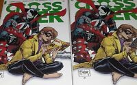 CROSSOVER 3 Image 2021 | SPAWN 1:8 [WALKING DEAD + CYBER FORCE] | 2 Book Lot NM