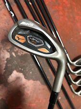 MIZUNO JPX EZ Iron Set 4-PW Orochi Graphite 65g R-Flex Golf Pride Grips Used