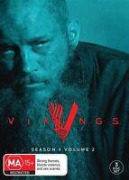Vikings : Season 4 : Part 2 DVD, 2017, 3-Disc Set R4 New Sealed