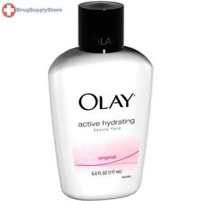 OLAY  Active Hydrating Beauty Fluid 6 oz: PACK OF 3