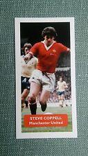 Manchester United-Steve COPPELLI-punteggio UK FOOTBALL TRADE card