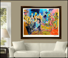 LeRoy NEIMAN My Fair Lady Large Hand Signed Color Serigraph Artwork Painting SBO
