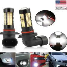 360° Beam 9006 HB4 LED Fog Light Conversion Kit Bulbs 6000K 100W Headlights