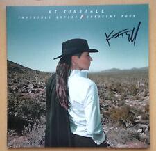 KT Tunstall, Invisible Empire Crescent Moon LP VINYL Album AUTOGRAPHED SIGNED