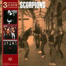 Scorpions 3 Original Album Classics 3 CD In Trance, Virgin Killer Taken By Force