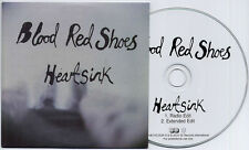 BLOOD RED SHOES Heartsink 2010 UK 2-track promo CD