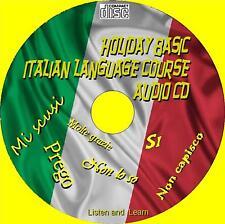 HOLIDAY Basics LINGUA ITALIANA naturalmente ascoltare ripetere & Apprendi CD AUDIO NUOVO