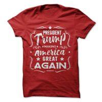 Donald Trump President T-Shirt Making Make America Great Again Election 2020 Tee
