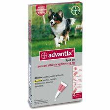 advantix Antiparassitario per Cani 4-10kg - 4 Pipette