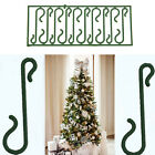 Skillful Green Christmas Ornament tree Hook Decoration Hanger Wire