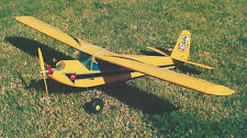 RCM 1/2A or Electric Basic Trainer/Sport Airplane Plans,Templates & Instructions