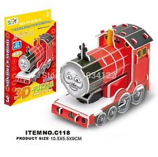 Thomas & Friends Red Train Hardpaper Puzzle Easy Assembly Educational Toy