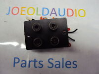 Marantz 1060 RCA Jack Panel Replaces PREAMP IN/OUT TAPE IN/OUT. Parting Out 1060