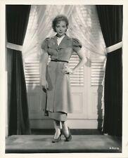 IDA LUPINO Original Vintage 1936 Pickford Lasky Studio FASHION Portrait Photo
