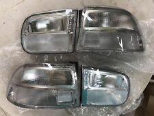 NEW FOR 92-95 CIVIC HATCHBACK 3DR TAIL BRAKE LIGHT REAR LAMP CLEAR LENS EG6 EG4