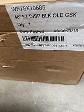 Ge Monogram Door Refrigerator 48 Disp Blk Foamed Freezer Wr78X10885