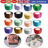 25 Metres Double Sided Faced Satin Ribbon Full Roll Reel 10mm 25mm 40mm Width UK