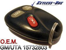 99-01 CHEVY TAHOE KEYLESS ENTRY REMOTE OEM KEY FOB GM/UTA 15732803 FCC KOBUT1BT