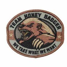 Team Honey Badger Morale Patch - Forest Woodland