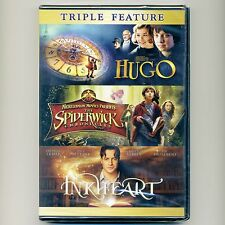 3 PG family movies Hugo, Spiderwick Chronicles, Inkheart, new DVDs Fraser Mirren