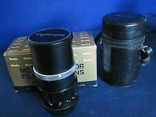 Minolta MC Tele Rokkor-HG f2.8 135mm lens w/case/box