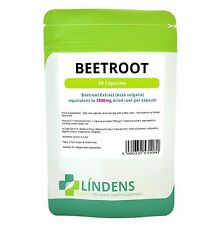 Super Strength Beetroot Extract 3500mg 50 capsules Lindens