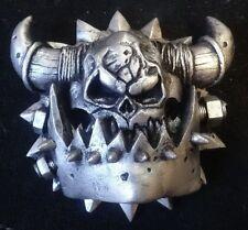 Ork race symbol pin