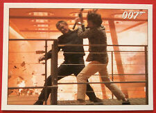 JAMES BOND - Quantum of Solace - Card #079 - Bond Loses His Gun In The Fight