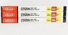 Fullmark Typewriter Ribbon Lot of 3 N488BK for Citizen 8m x 12 m NIP