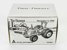 Ertl 1995 Allis-Chalmers Two-Twenty Toy Farmer Tractor Box ONLY, Vintage 1:43