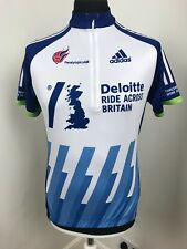 Adidas Cycle Shirt Bike Vest JERSEY Top Paralympics GB SIZE Large