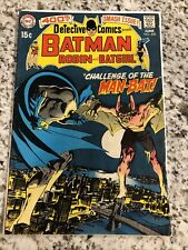 Batman Robin and Batgirl #400 Challenge of The Man-Bat! 1970