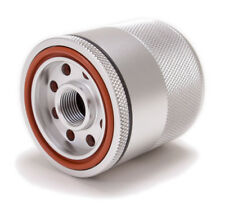"Billet Aluminum Reusable Magnetic Oil Filter - 3.11"" Tall 2.7"" Dia. 3/4-16 Threa"