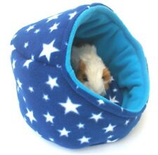 ***COZY PETS**GUINEA PIG BED ,FLEECE POD BED PADDED, RABBIT, HEDGEHOG ETC*****