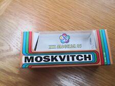 1/43 Moskvitch A1,A4,A5,A6,A12, A10 BOX Novoexport Tantal (REPRINT!!!) Brand New