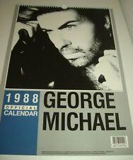 George Michael 1988 Calendar Kalender Calendario Calendrier WHAM! Photo Photos